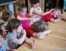 Massage à l'école avec Béatrice